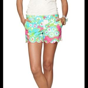 Lilly Pulitzer The Buttercup Scallop Hem Short